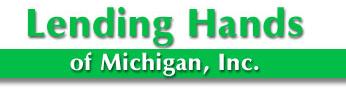 Lending hands logo