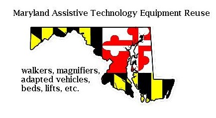 ‎ MD Assistive Technology Equipment Reuse ‎logo
