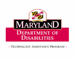 Maryland Department of disabilities AT load program ‎logo