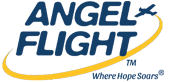 Angel Flight Soars ‎logo