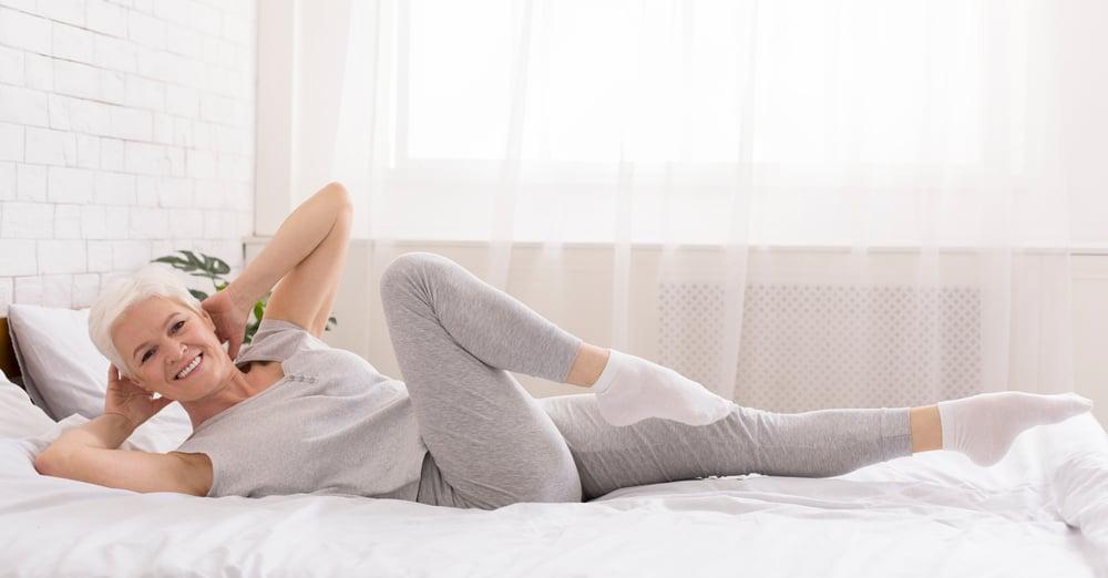 bed exercise for elderly