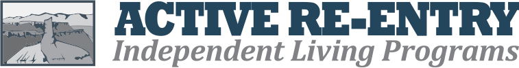 Active re-entry Independent living program logo