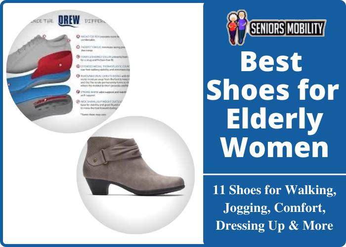 Best Shoes for Elderly Women