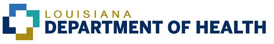 Louisiana Department of Health logo