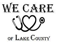 We Care of Lake County logo