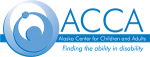 Alaska center for children and adults logo