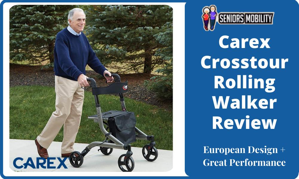 Carex Crosstour Rolling Walker Review