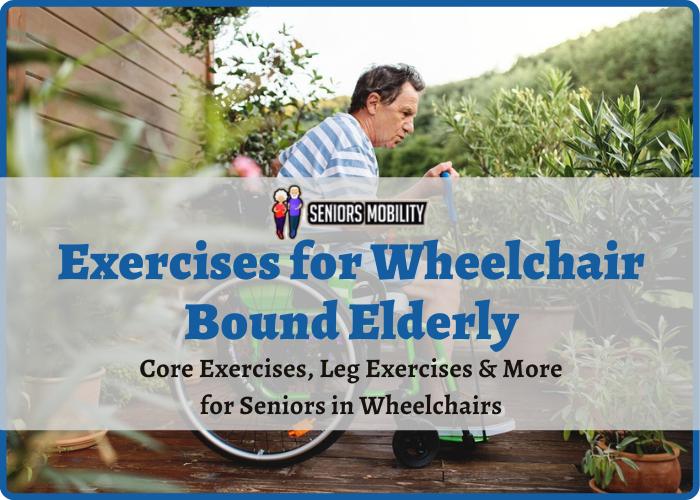 Exercises for Wheelchair Bound Elderly