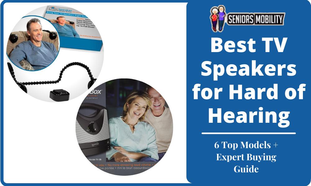 Best TV Speakers for Hard of Hearing