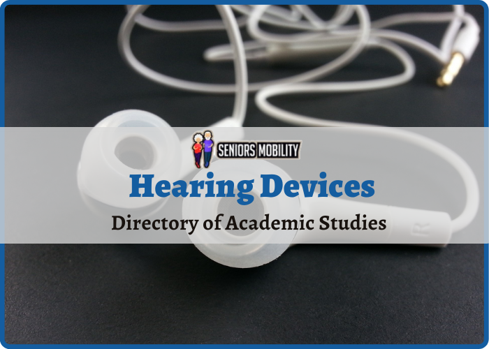 Hearing Devices: Directory of Academic Studies