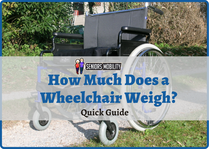 How Much Does a Wheelchair Weigh