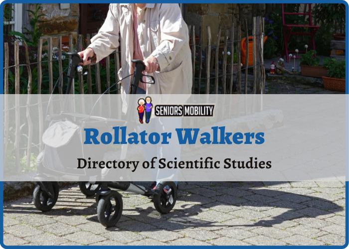 Rollator Walkers – Directory of Scientific Studies